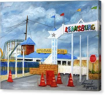 Keansburg Amusement Park Canvas Print