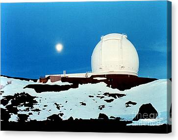 Keck Telescope Canvas Print - Keck Observatory by Science Source