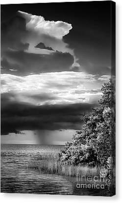 Keep An Eye On The Sky Canvas Print by Marvin Spates