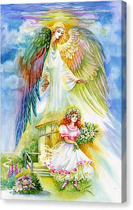 Keep Her Safe Lord Canvas Print by Karen Showell
