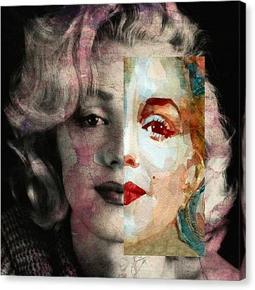 Keep Me Safe Lie With Me Stay Beside Me Don't Go Canvas Print by Paul Lovering