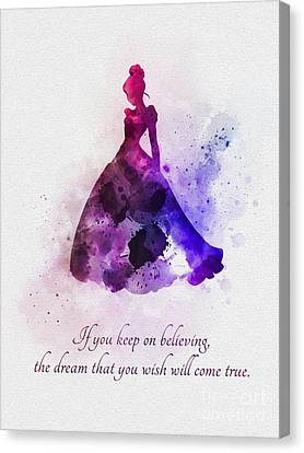 Keep On Believing Canvas Print