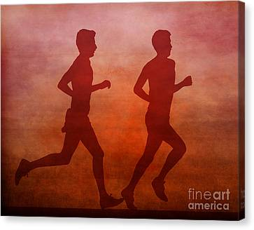 Keep On Running Canvas Print