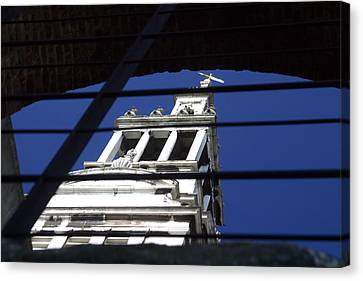 Canvas Print featuring the photograph Keep The Faith Where It Is by Jez C Self