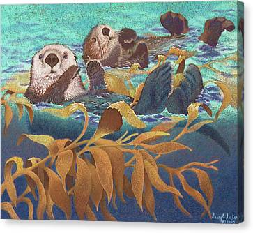 Keepers Of The Kelp Canvas Print by Tracy L Teeter