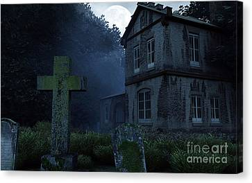 Keepers Of The Manor  Canvas Print by Richard Rizzo