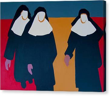 Keepers Of Their Faith Canvas Print