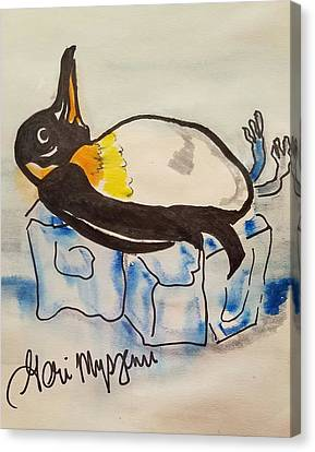 Keeping It Cool Canvas Print by Geraldine Myszenski