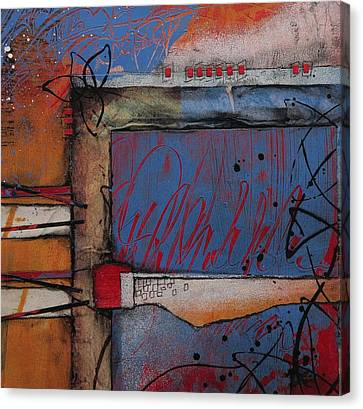 Bold Colors Canvas Print - Keeping It Together by Laura Lein-Svencner
