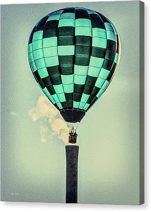 Keeping Warm As You Float Canvas Print by Bob Orsillo