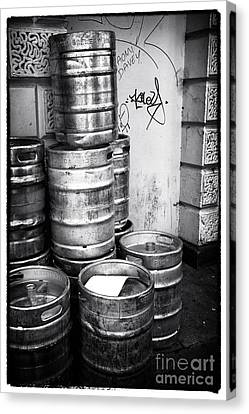 Keg O Beer Canvas Print