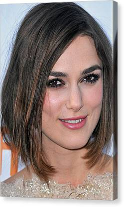 Keira Knightley At Arrivals For A Canvas Print by Everett