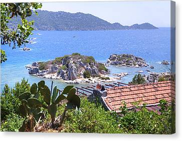Kekova Archipelago - Turkey Canvas Print by Joana Kruse