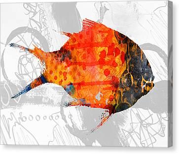 Kelp Runner Canvas Print by Nancy Merkle
