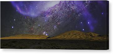 Kelso Dunes Two Canvas Print by Kevin Blackburn