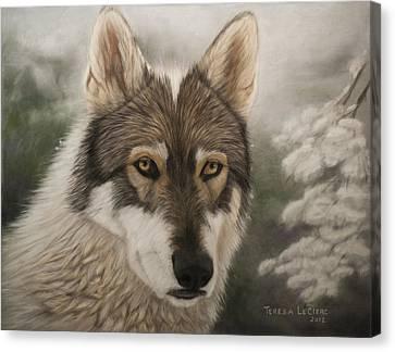 Keme Canvas Print by Teresa LeClerc