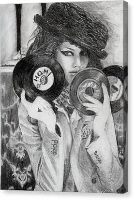 Kemp Muhl Canvas Print by Angelica Medrano