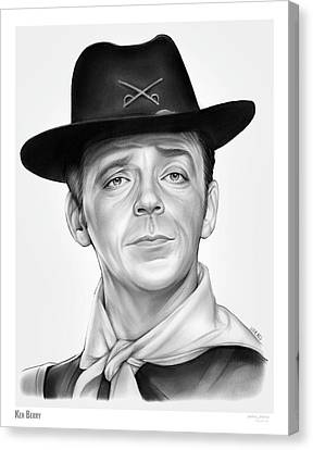 Ken Berry Canvas Print
