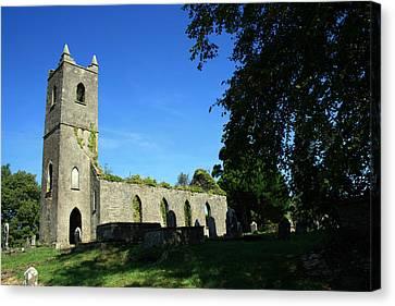 Kenmare Church Ruins Canvas Print by John Quinn