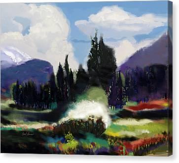 Kennedy Meadows Canvas Print