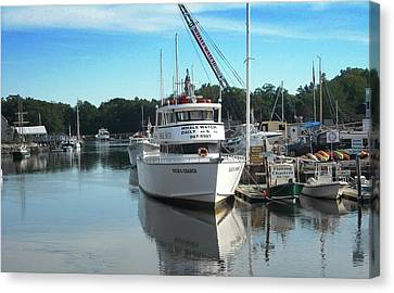 Kennubunk, Maine -1 Canvas Print