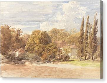 Kensington Gardens Canvas Print by Samuel Palmer