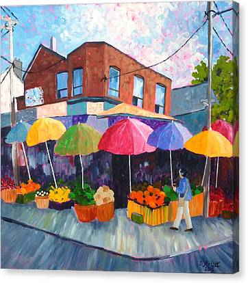 Kensington Market Canvas Print