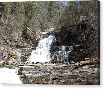 Kent Falls Canvas Print by Catherine Gagne