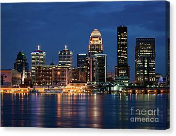 Canvas Print featuring the photograph Kentucky Blue by Andrea Silies