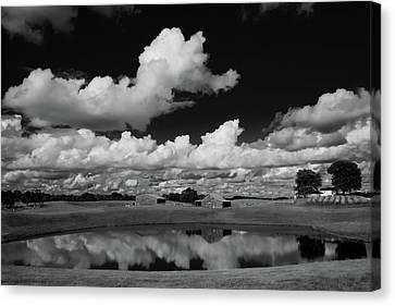 Kentucky Clouds Canvas Print by Keith Bridgman