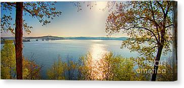 Canvas Print featuring the photograph Kentucky Lake by Ricky L Jones