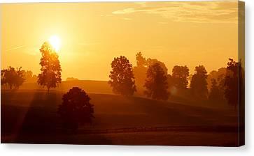 Kentucky Morning Canvas Print by Keith Bridgman