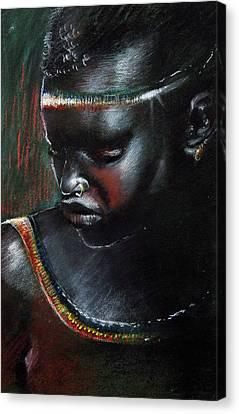 Kenya Beauty Canvas Print