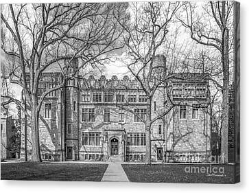 Kenyon College Mather Hall Canvas Print by University Icons