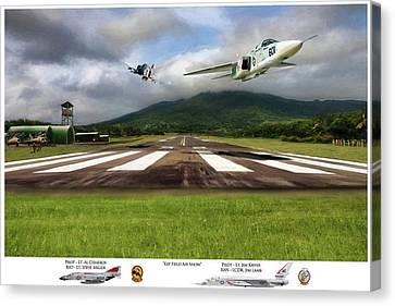 Kep Field Air Show Canvas Print