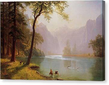 Kern S River Valley California Canvas Print