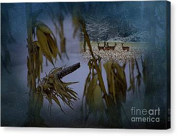 Kernal Canvas Print by The Stone Age