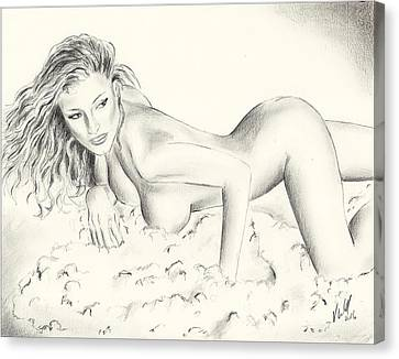 Kerri Kendall Canvas Print