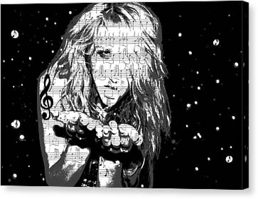 Kesha Canvas Print by Brad Scott