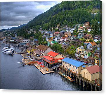 Ketchikan Alaska Canvas Print