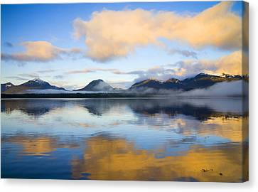 Ketchikan Sunrise Canvas Print by Mike  Dawson