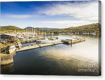 Kettering Boat Harbour Canvas Print by Jorgo Photography - Wall Art Gallery