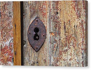 Key Hole Canvas Print by Carlos Caetano