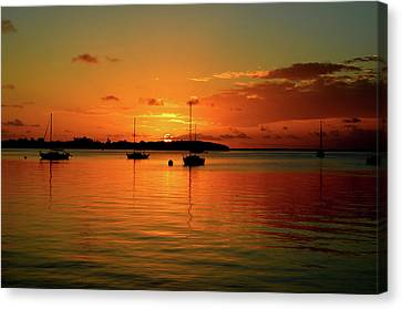 Key Largo Sunset Canvas Print