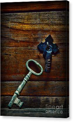 Key To My Heart Canvas Print by Paul Ward