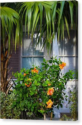 Key West Garden Canvas Print