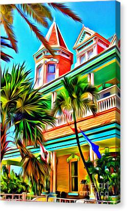 Key West Home Canvas Print