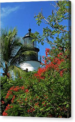 Key West Lighthouse Canvas Print by Frank Mari