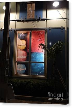 Key West Window Canvas Print