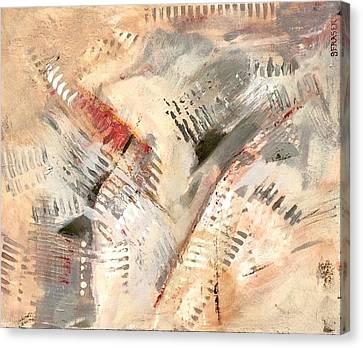 Keyboard Rhythm Canvas Print
